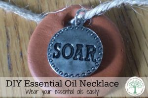 essential oil necklace horizontal