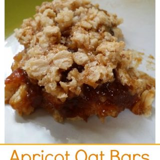 gluten and dairy free come together in this delicious apricot oat bar! The Homesteading Hippy #homesteadhippy #fromthefarm #recipes #glutenfree #dairyfree
