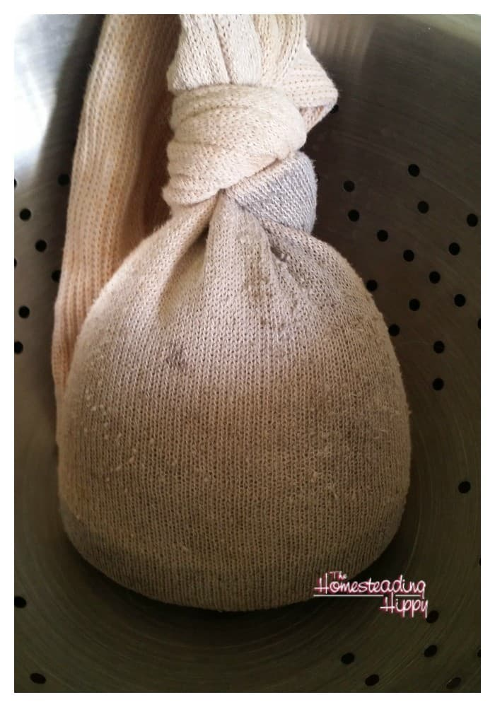 Make your own rice filled heating pad to help soothe minor aches and pains! The Homesteading Hippy #homesteadhippy #fromthefarm #diy