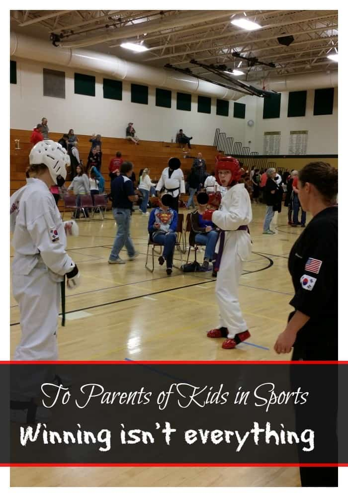 To The Parent of Kids in Sports