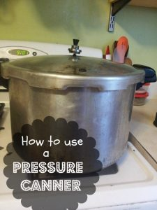 how to use a pressure cannera