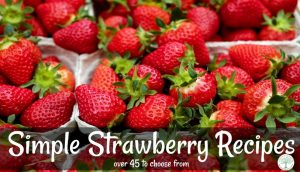 The ULTIMATE Simple Strawberry Recipes Collection