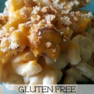 Macaroni and Cheese Casserole-This classic gets a new gluten free twist. ~The Homesteading Hippy #homesteadhippy #glutenfree #fromthefarm #recipes
