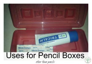 How to Use a Pencil Box for Things Other Than Pencils