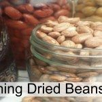 Canning dried beans makes them so much easier to cook later on. Just open up and heat and eat! The Homesteading Hippy #homesteadhippy #fromthefarm #canning #beans