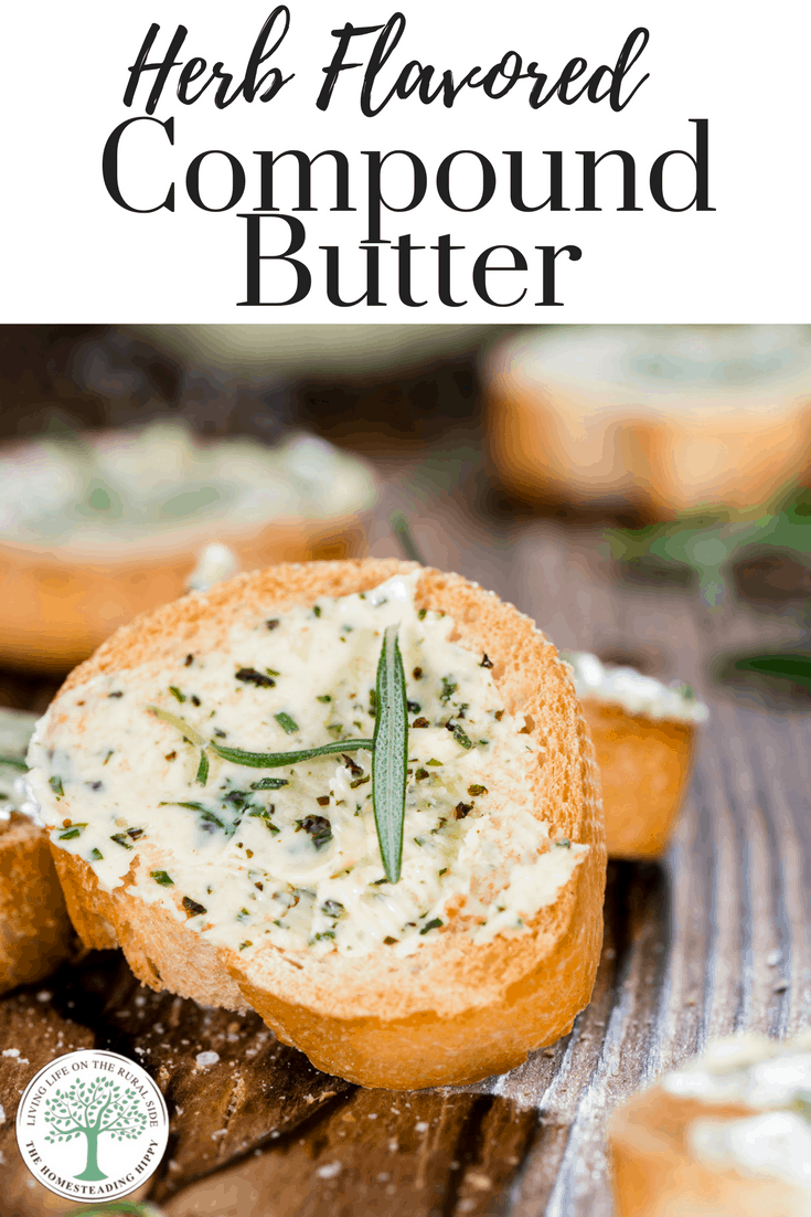 Compund butter , made with fresh herbs can take your cooking to a whole new level. Try these different compound butter combinations tonight!