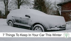 7 Things You Need in Your Vehicle During The Winter