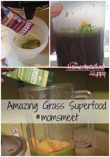 Amazing Grass Super food #momsmeet #review #homesteadhippy