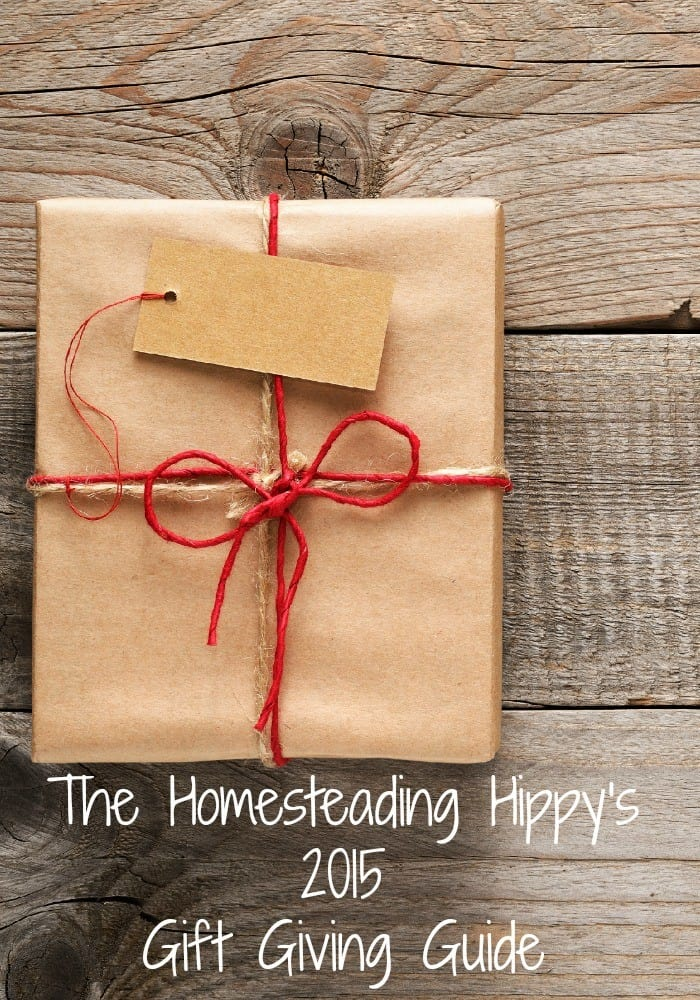 Need a unique gift idea for that special hard to buy for person in your life? We've got some great ideas for you! The Homesteading Hippy #gift #homesteadhippy #2015holiday