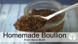How To Make Dehydrated Bone Broth-great for pantry storage!