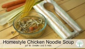 Grandma's Homestyle Chicken Noodle Soup