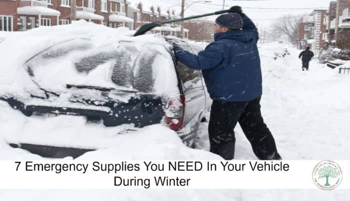emergency car winter post