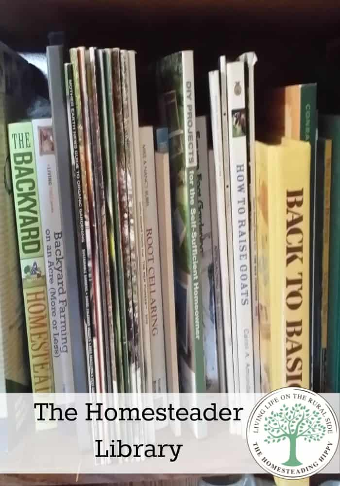 A good resource library can make all the difference with your homesteading success!  The HomesteadingHippy #homesteadhippy #fromthefarm