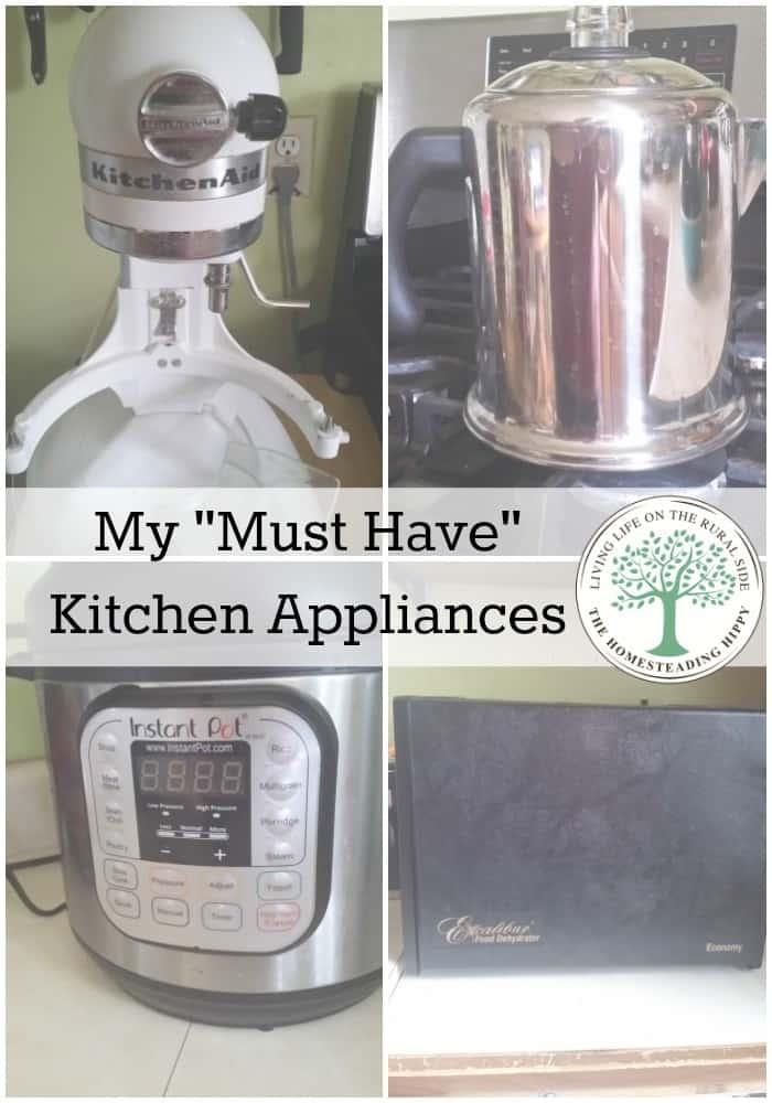 My must have kitchen appliances for Must have appliances