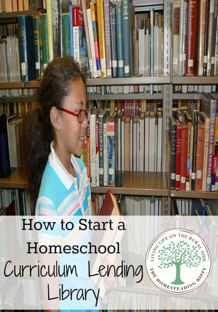 Save money, try new curricula and share your items for FREE with your own lending library. The Homesteading Hippy #homesteadhippy