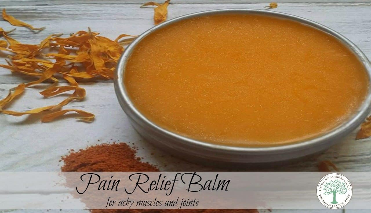 Got tired, achy muscles after a workout or a day in the garden? Soothe those tired, achy muscles naturally with this herbal arnica muscle pain relief balm.