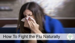 Learn some natural ways to fight and recover from flu symptoms! The HomesteadingHippy
