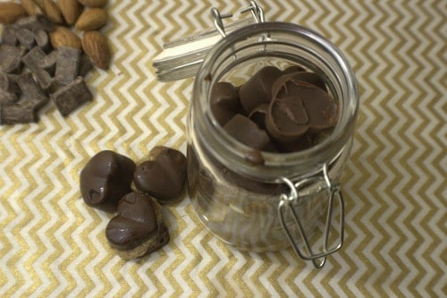 These chocolate almond butter cups are the perfect replacement!