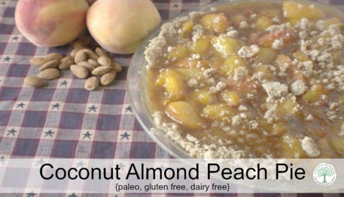 coconut almond peach pie post