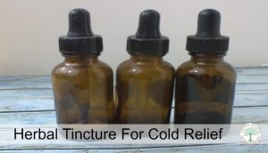 Cold Relief Tincture