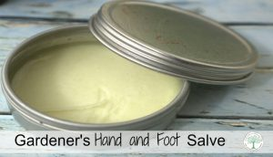 Gardener Salve {perfect for rough, dry hands or feet}