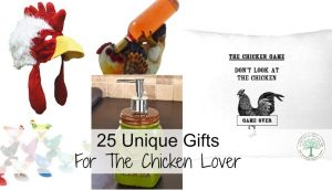 25 Gifts For The Chicken Keeper