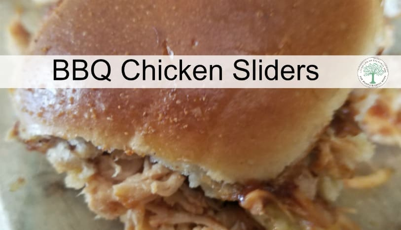 What do you make with those 3 frozen chicken breasts that will satisfy your family with good, nutritious food that will FILL them up? Try these bbq pulled chicken sliders! The Homesteading HIppy