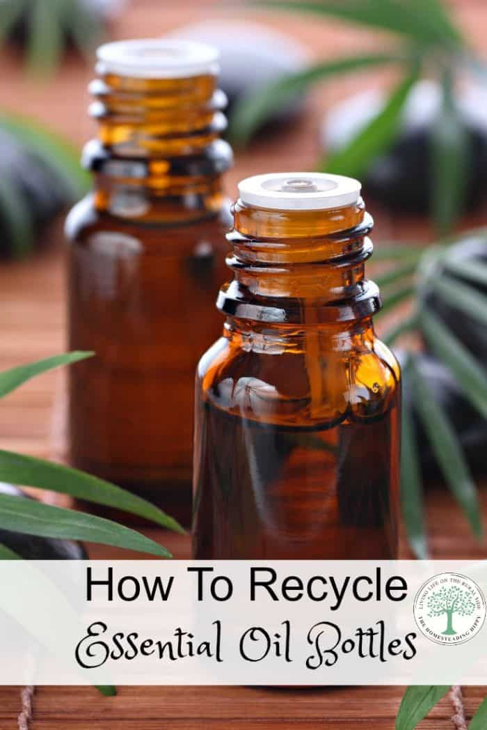 essential oil bottles recycle pin