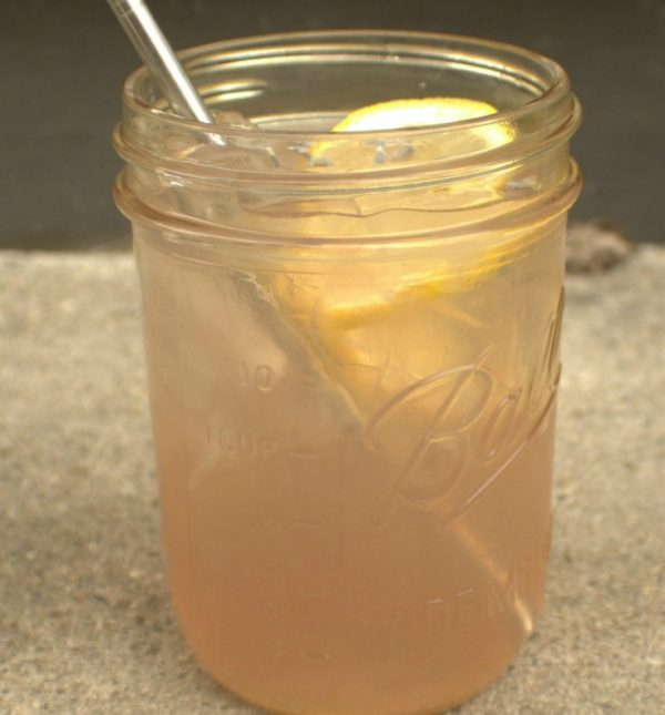 Delicious and refreshing! Try this lavender rose lemonade today! Make with all natural, herbal ingredients that you can feel good about! The Homesteading Hippy