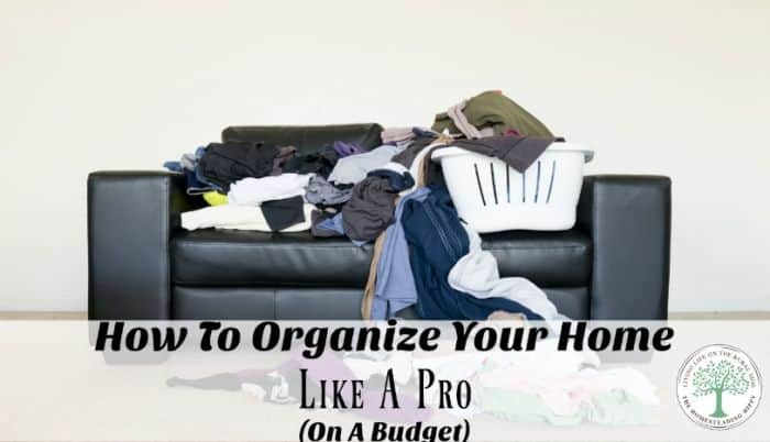 organize your home post