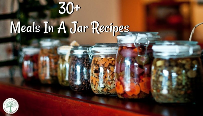 So, are you ready for some recipes to make some mason jar make ahead meals? Get over 30 recipes to get you started on stocking your pantry or for great gifts! The Homesteading HIppy