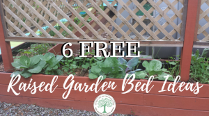 6 Free Raised Garden Bed Ideas- Maximize Your Space