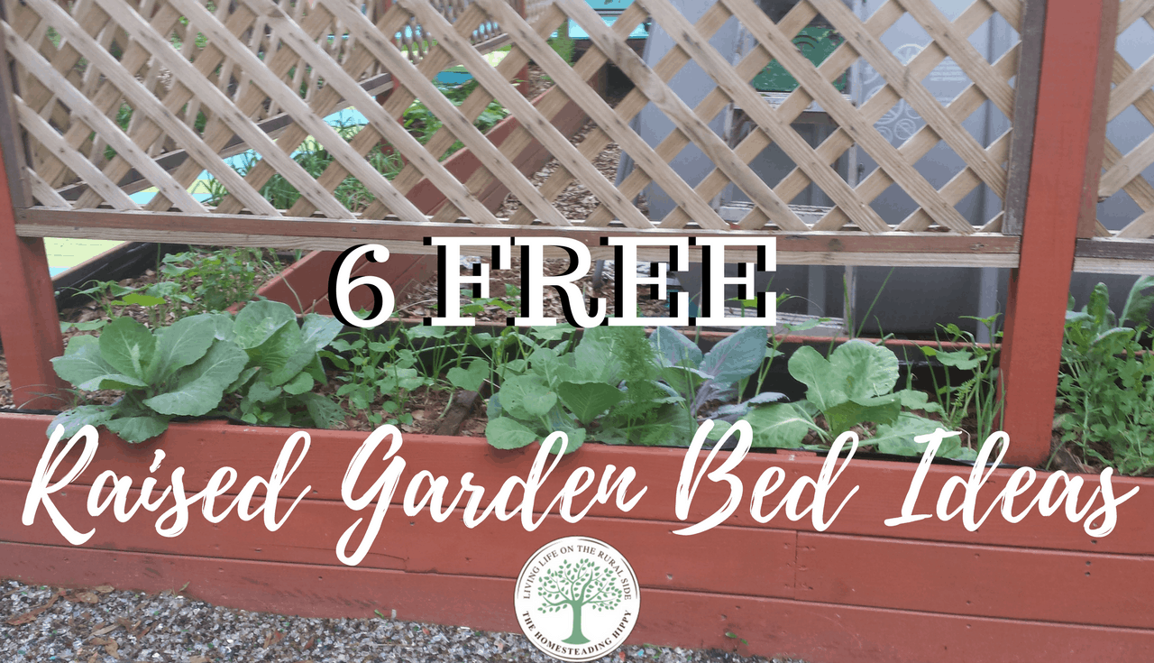 6 free raised garden bed ideas maximize your space for Garden bed ideas pinterest