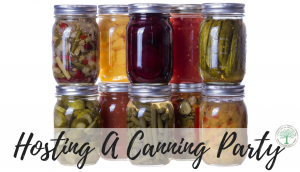Get your canning on in a FUN way by hosting a canning party! Learn how to get yours started here. The Homesteading Hippy