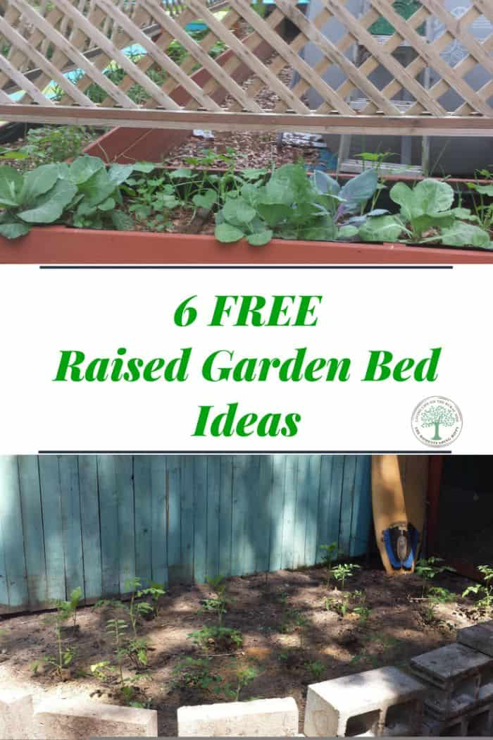 free raised bed garden ideas pin