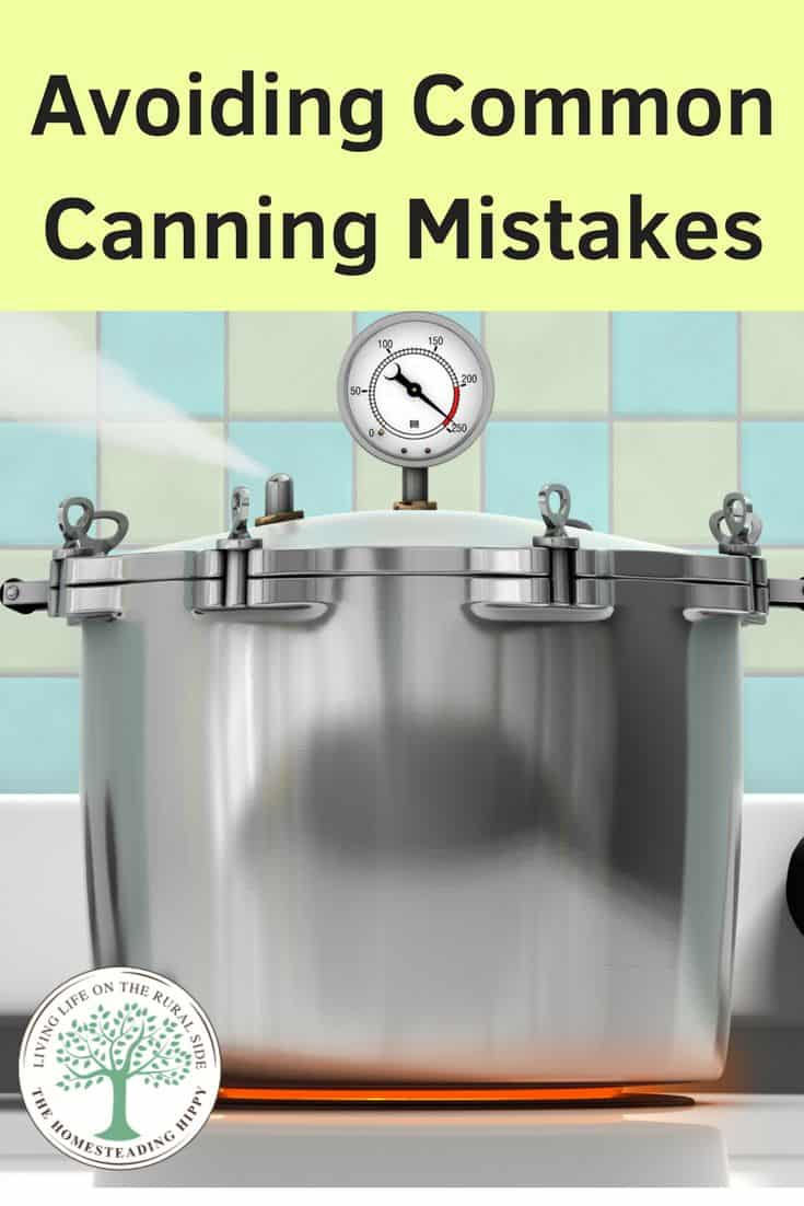 Avoiding Common Canning Mistakes pinterest