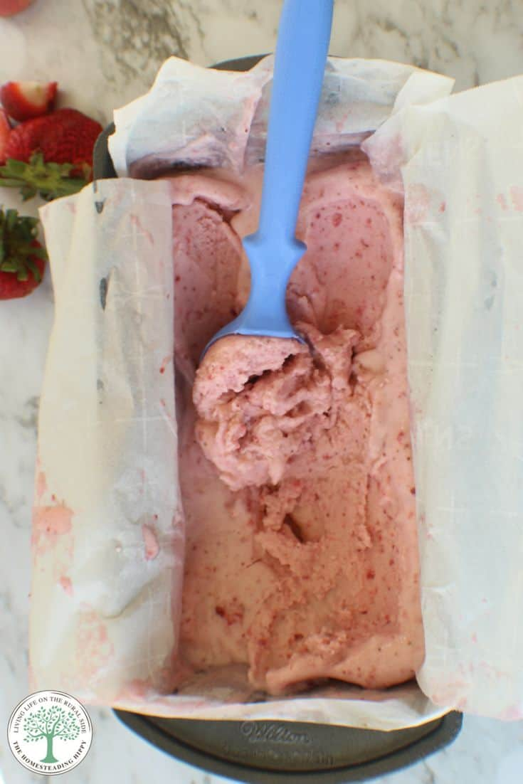 strawberrry ice-cream