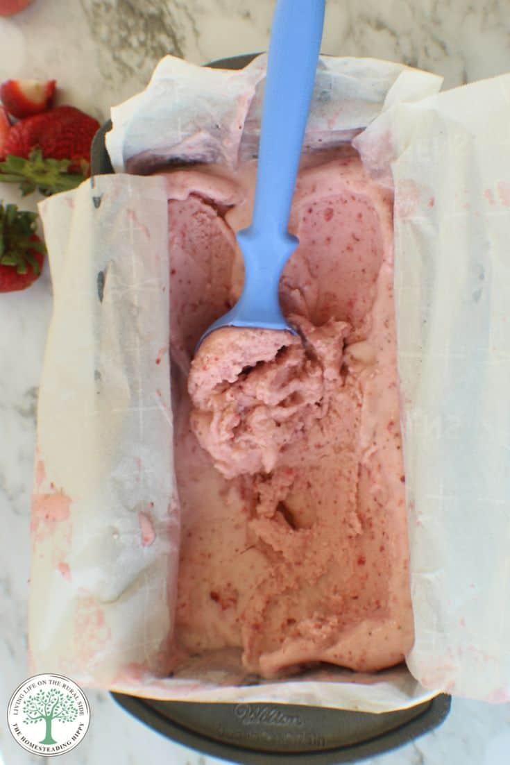 strawberrry ice-cream