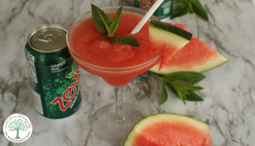When the heat is on, cool down with this light, fruity and refreshing mock-a-rita. With juicy watermelon and zippy mint, you'll recharge, refresh, and rehydrate without added sugars you don't want!