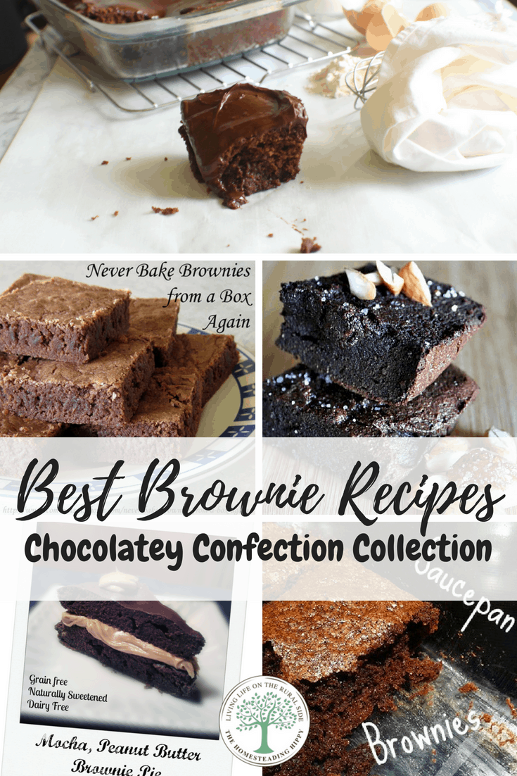 Whether you are gluten free, paleo, wanting to eat healthier or you want BROWNIES, this is the post for you! There are old fashioned recipes, grain free, gluten free, vegan and even raw brownie recipes! Get your chocolate fix and enjoy them all!
