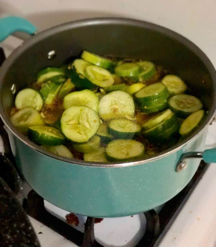 Cooking Zucchini Pickles