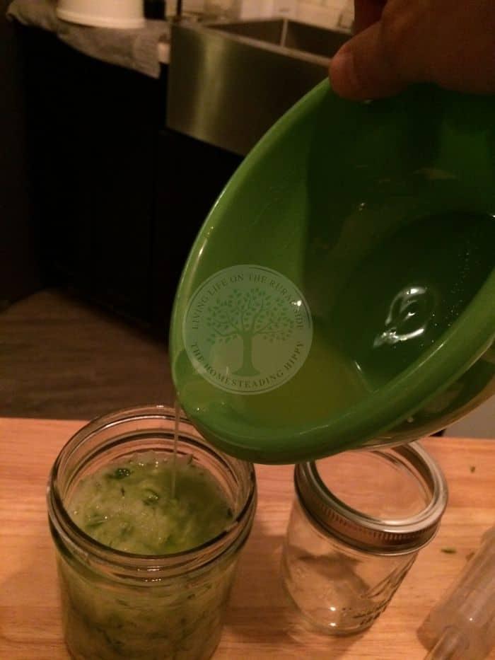 Zucchini Brine Fill