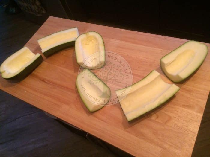Zucchini Cut
