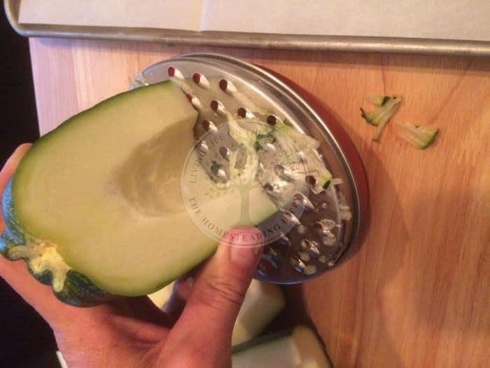 Zucchini Grating