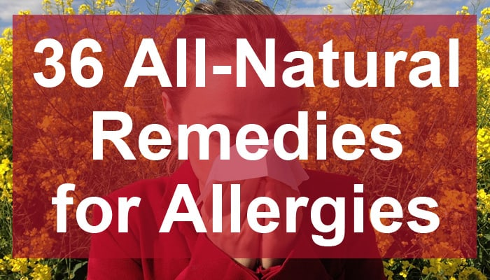 allergies remedies post