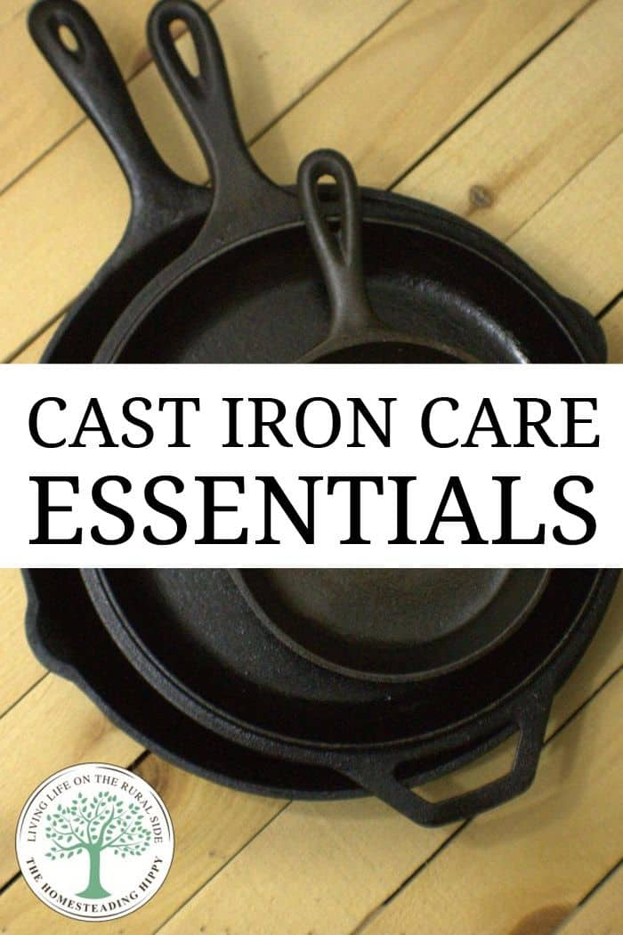 cast iron care pin
