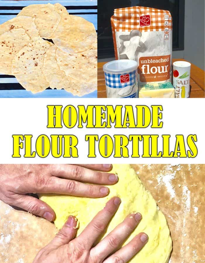 homemade tortillas pin