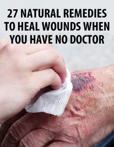 natural remedies wound pin