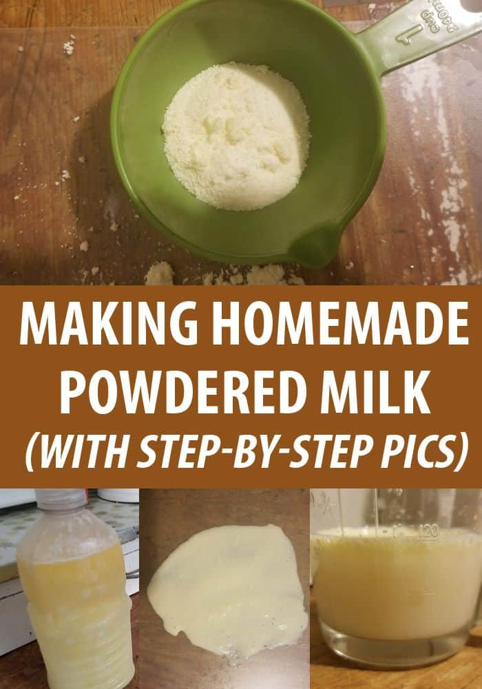 homemade powdered milk pin