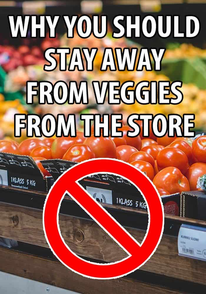 no to supermarket veggies pin